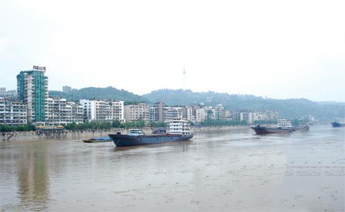 自贡市客货运站点和水运设施建设取得新成效